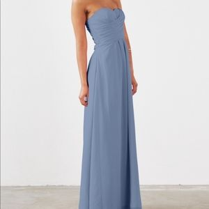 Weddington Way Dusty Blue Strapless Dress